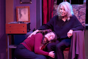 Jenn Robbins and Salome Jens PHOTOS BY John Flynn