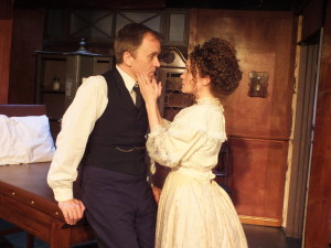 Dr Givings (Michael Oosterom) and Mrs Givings (Joanna Strapp)