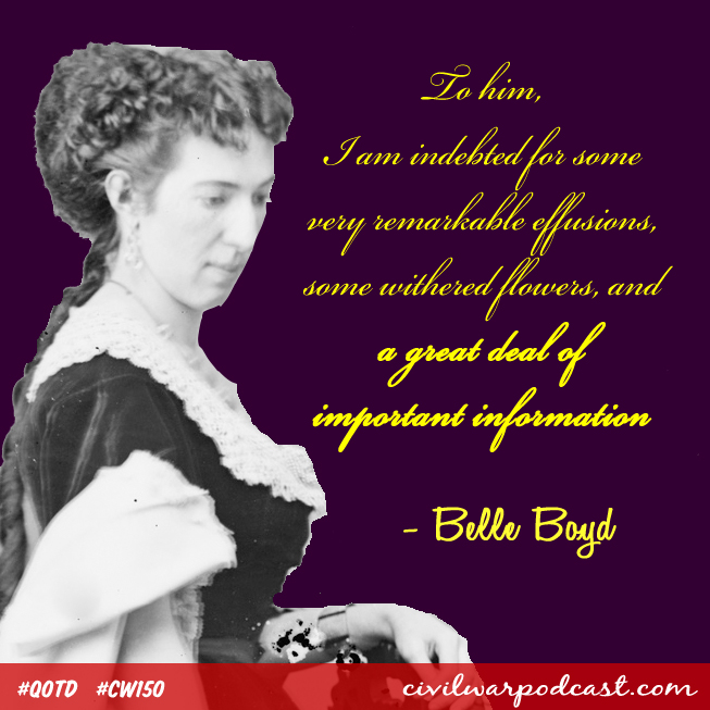 Belle Boyd Quote