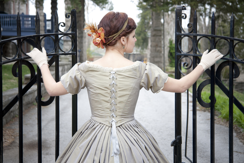 Get your own dress here - http://www.civilwarballgowns.com/