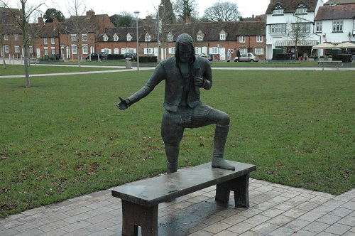 RSC - Shakespeare Statue